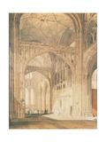 Interior of Salisbury Cathedral  C1805