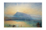 The Blue Rigi: Lake of Lucerne - Sunrise  1842