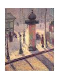 Kiosk on the Boulevard Clichy  1886-7