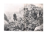 The Taking of Badajoz  Illustration from 'British Battles on Land and Sea'  Published by Cassell …