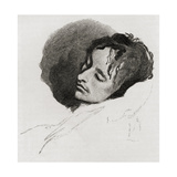 John Keats in His Last Illness  from 'The Century Illustrated Monthly Magazine'  May to October …