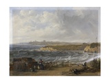 Cullercoats Looking Towards Tynemouth - Flood Tide  1845