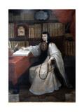 Portrait of Sor Juana Ines De La Cruz  1750