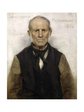 Old Willie - the Village Worthy  1886