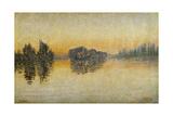Sunset  Herblay  1889
