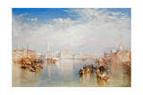 View of Venice: the Ducal Palace  Dogana and Part of San Giorgio  1841