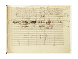 'Wellington's Victory  Op 91'  Page 36  Composed by Ludwig Van Beethoven (1770-1827)