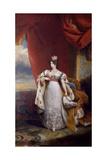 Portrait of Tsarina Alexandra Feodorovna of Russia  1828-31