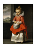 Portrait of the Artist's Daughter  Magdalena De Vos  C1623-24