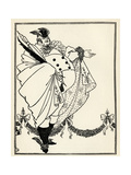 Design for the Contents Page of 'The Savoy'  Volume I  1896