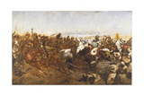 The Charge of the 21st Lancers at the Battle of Omdurman  1898