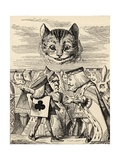 The King of Hearts Arguing with the Executioner  from 'Alice's Adventures in Wonderland' by Lewis…
