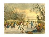 Ball Play on the Ice  1853