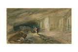 The Quarry Caverns  Jerusalem  1869