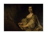 Portrait of Lady Charlotte Boyle  C1748