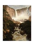 The Falls of the Tequendama Near Bogota  New Granada  1854