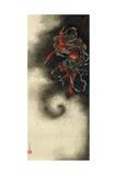 Thunder God  Edo Period  1847