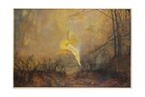 Midsummer Night  or 'Iris'  1876