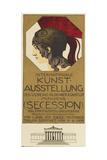 Poster Advertising the International Art Exhibition  Munich  1898