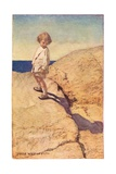 Child and their Shadow  from 'A Child's Garden of Verses' by Robert Louis Stevenson  Published 1885