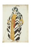 Costume Design for a Dancer from 'Suite Arabe'