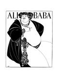 Cover Design for Ali Baba  1897