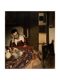 Girl Asleep at a Table  1656-57
