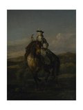 Equestrian Portrait of Charlotte Boyle  Marchioness of Hartington  1747