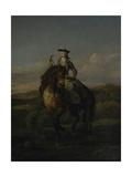 Equestrian Portrait of Charlotte Boyle  Marchioness of Hartington  1747