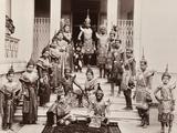Thai Classical Dancers  C1900