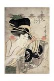 The Courtesan Ichikawa of the Matsuba Establishment  Late 1790s