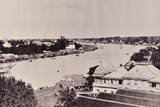 View of the Chao Phraya River in Bangkok  C1890s