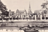 View of a Canal in Bangkok  C1890