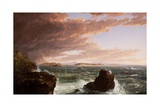 View across Frenchman's Bay from Mt Desert Island  after a Squall  1845