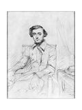 Portrait of Charles Alexis Henri Clerel De Tocqueville  1844