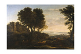 Landscape with Mercury and Battus  1663
