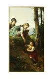 Children Picking Berries