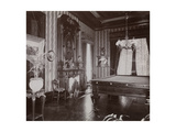 The Billiard Room at the John Jacob Astor Residence at Rhinecliff  NY  1893-94