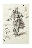 Albanactus  Preliminary Sketch