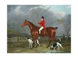 A Huntsman and Hounds  1824