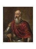 Portrait of a Venetian Admiral  Possibly Francesco Duodo