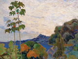 Martinique Landscape  1887 (Detail)