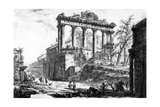 View of the Temple of Concord  from the 'Views of Rome' Series  C1760
