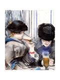 Women Drinking Beer  1878