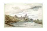View of Cleves  Late 17th Century