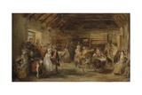 The Penny Wedding  a Sketch  1830