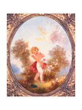 Cupid Among Roses  or Love the Sentinel  C1775