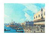 View of Venice with the Salute  C1735