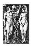 Adam and Eve  Engraved by Hans Sebald Beham  1543