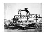 The Construction of Jhelum Bridge  C1873